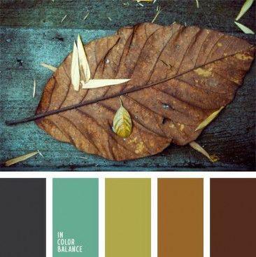 Earthtones colour scheme for interior design