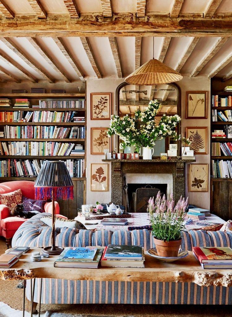 Country chic interior design