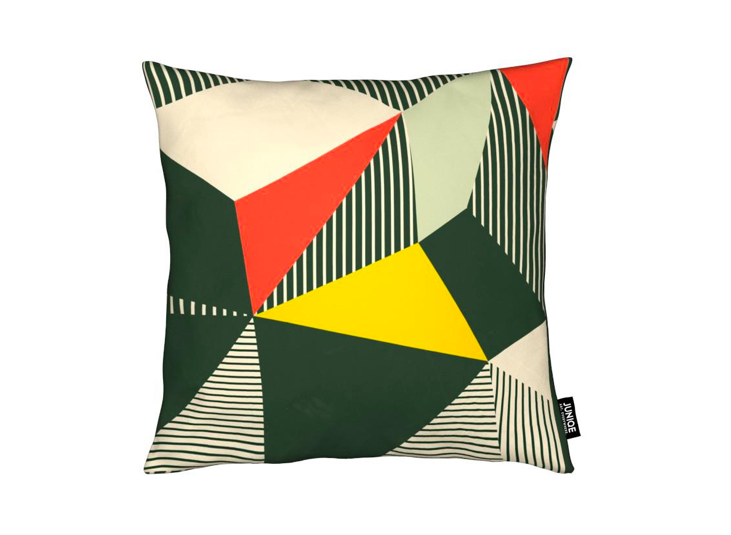 Junique Bauhaus Abstract Cushion