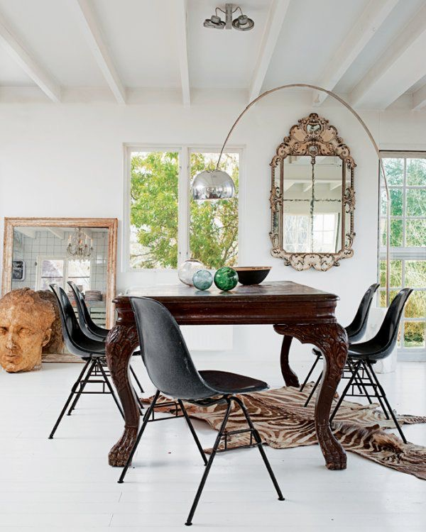 Old and new interior design