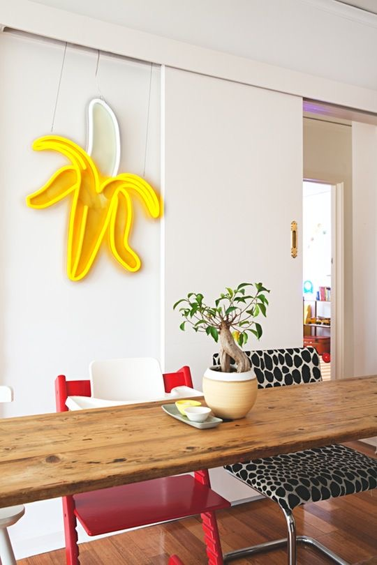 Playful interior design