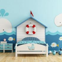 Interior design children's bedroom