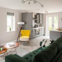 The Exchange - Interior design Shipley Showhome