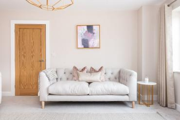Show home interior design, Otley, Yorkshire