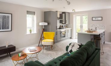 The Exchange - Interior design Shipley Showhome